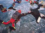 SOME MOMENTS FROM LIFE OF SKYDIVERS